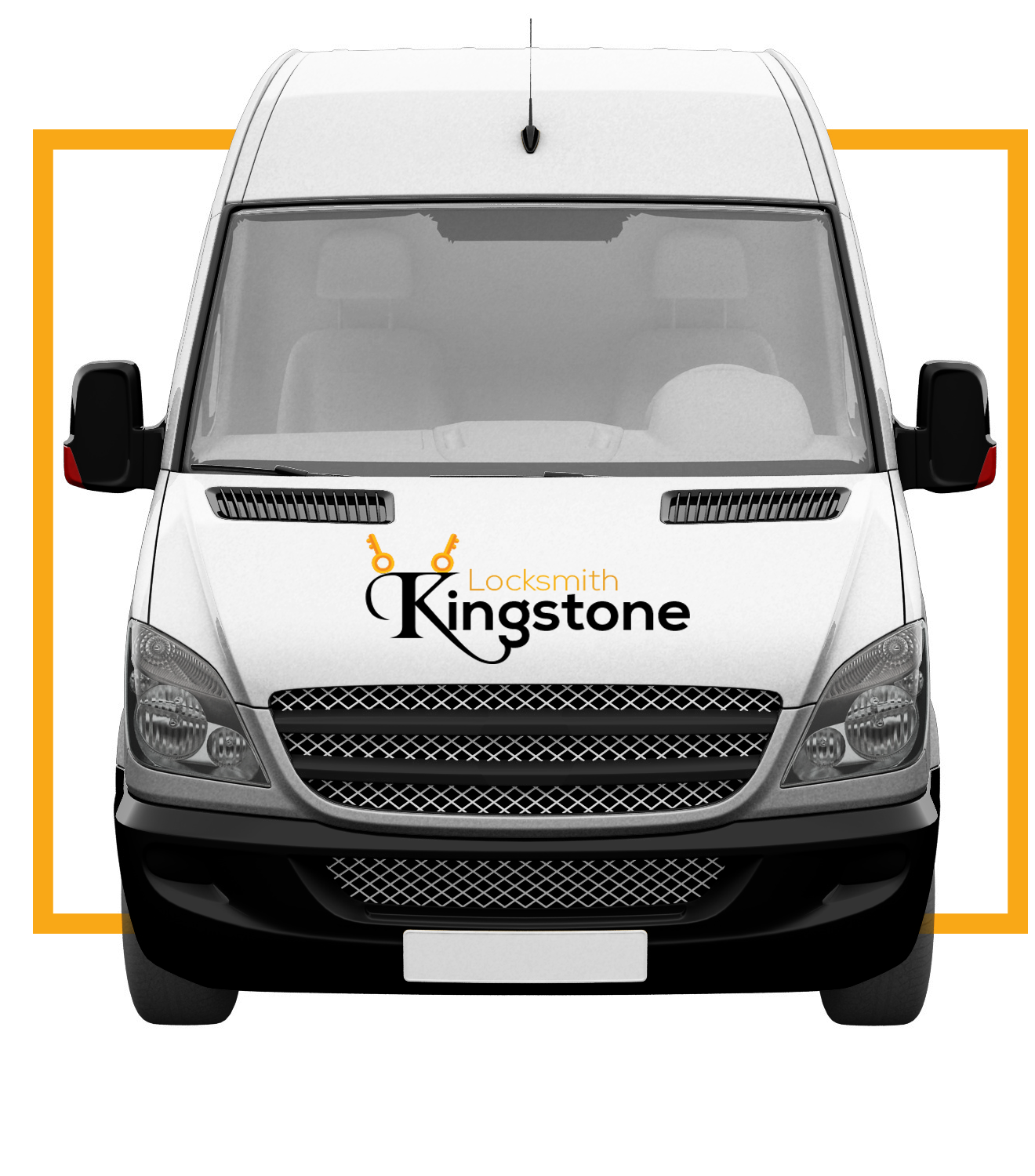 Kingsotone locksmith van