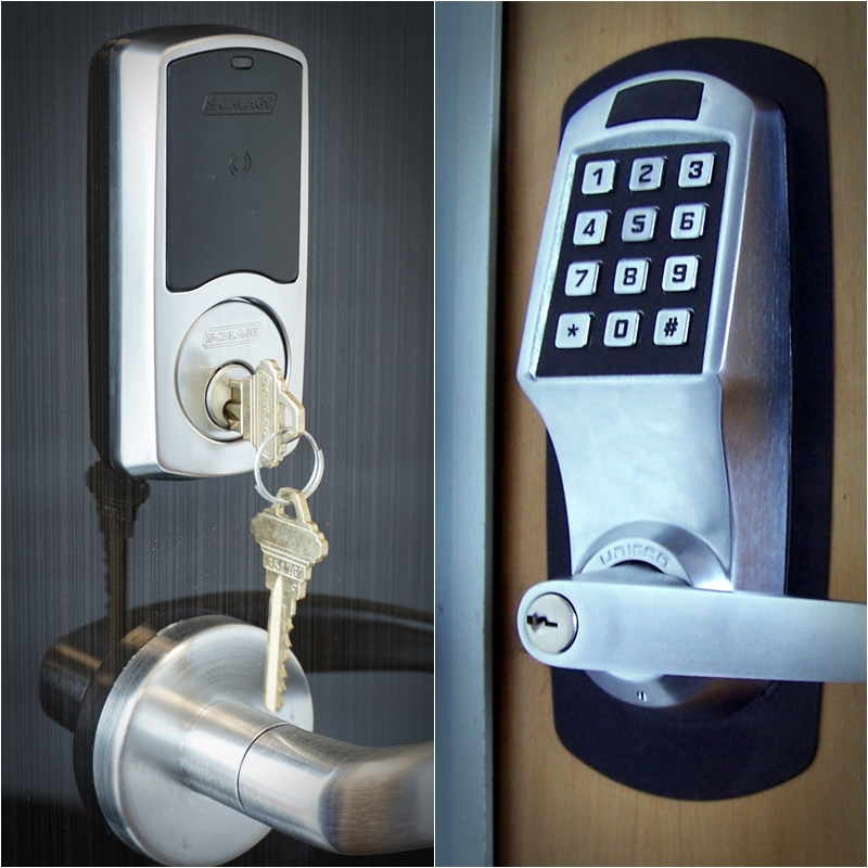 Smart door lock and security system